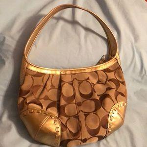 Coach purse single strap
